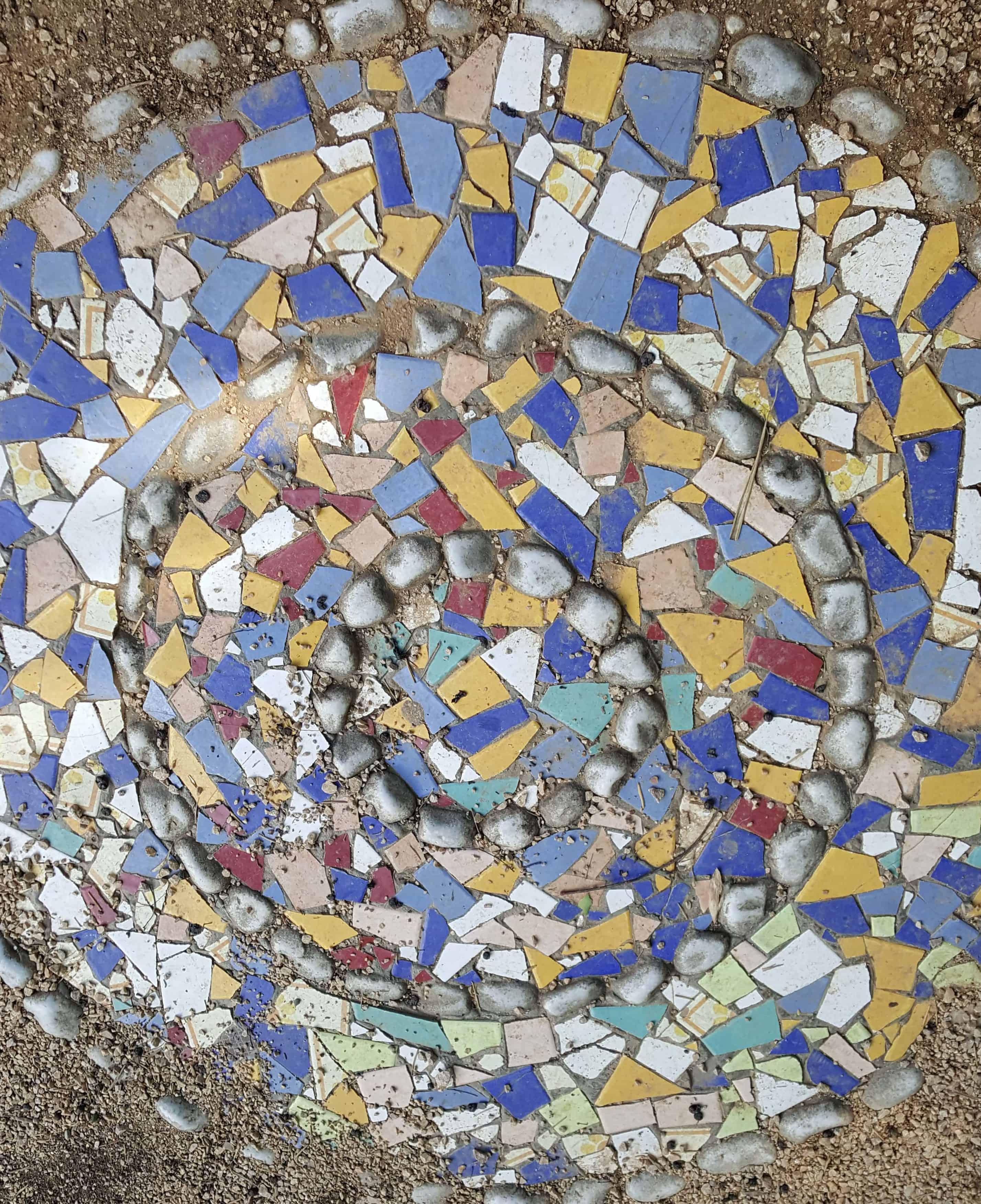 wir sehen ein Mosaik